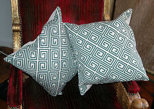 Art Deco Style Geometric Decorative Cushions