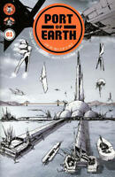 Port of Earth 1 Zack Kaplan Andrea Mutti Sold Out 1st Print Image TV Series NM