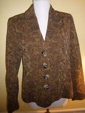 Motherhood Jacket Womens size S Maternity Coat Brown Lined Suit Coat