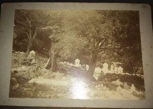 PHOTOGRAPHIE DE A. BAYARD. Cimetière De Blidah (Algérie) Vers 1875