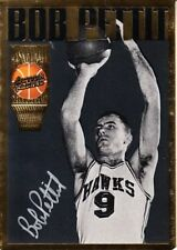 Bob Pettit certified signed auto 1994 Action Packed Hall of Fame HOF card