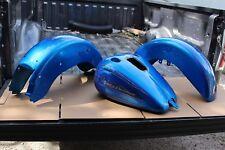 Original Harley 3 Piece Set Gas Tank Fenders DENTED OEM Custom Paint (U-2121