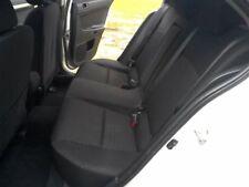 2013 13 Mitsubishi Lancer rear seat black 4dr sedan 33322