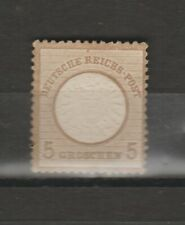 Germany 1872 Definitives - Eagle with Large Breastshield  5gr unused