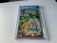 DROIDS 2 CGC 9.6 WHITE PAGES NEWSSTAND EDITION STAR WARS R2D2 C3PO MARVEL COMICS