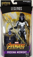 MARVEL LEGENDS AVENGERS INFINITY WAR PROXIMA MIDNIGHT ACTION FIGURE BAF THANOS