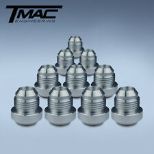 Aluminium Alloy Weld On Fittings Dash -10 AN / JIC - 10 pack