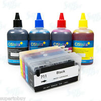 NON-OEM Refillable Ink Cartridge Kit for HP Designjet T520 T120 HP 711 HP711