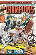 The Champions Comic Book #4, Marvel Comics 1976 NEAR MINT