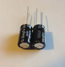 2pcs  1000uf 25v 105°C Radial Electrolytic Capacitor  ( US SELLER )