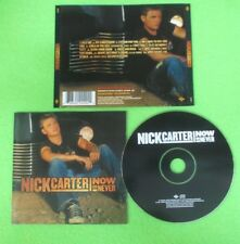 CD NICK CARTER Now or never 2002 JIVE 9224492 no lp mc dvd (CS23)