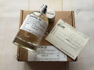 Le Labo Santal 33 Eau De Perfume 3.4 fl.oz | 100 ml Unisex Fragrance New In Box
