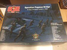 GI Joe Fighting Men Convention Set Operation Pegasus Bridge D-Day Invasion NEW