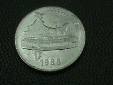 INDIA  50 Paise  1988 H , COMBINED SHIPPING