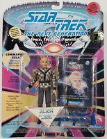 1993 Playmates Star Trek Next Generation Space Caps Commander Sela Action Figure
