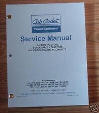 CUB CADET 1340 1535 1541 1860 1862 1782 SERVICE MANUAL