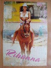Poster  *  Rihanna / Tomson & Baron - Afromental  *