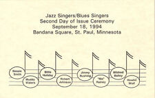 #2860 2nd Day Program Mildred Bailey Stamp