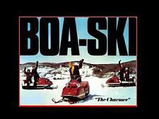 BOA-SKI SNOWMOBILE PARTS MANUAL & Brochure Set - 140pg for BoaSki Sled Repair