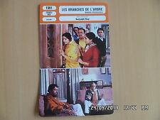 CARTE FICHE CINEMA 1991 LES BRANCHES DE L'ARBRE Ajit Bannerjee Haradan Bannerjee