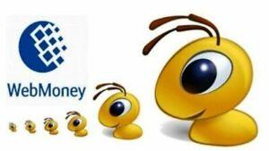 Webmoney 20 WMZ top-up