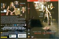 BASIC INSTINCT 2 (2006) con Sharon Stone - DVD USATO - WARNER