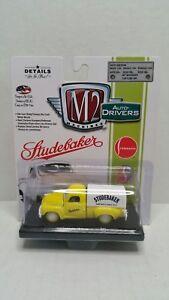 Rare M2 Machines Auto-Drivers 1950 Studebaker 2R Truck Yellow Chase 1 Of 750