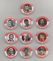 BRYAN ROBSON  MANCHESTER UNITED FC  38MM  BADGE