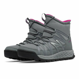 New Balance Womens BW2000GR Closed Toe Ankle Cold Weather Boots, Grey, Size 5.5
