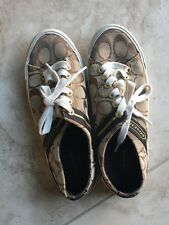 Women's COACH Lesley Lace Up Sneakers Size 7