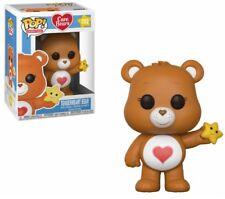FUNKO POP -  Bisounours Care Bears Pop Tenderheart Bear - coeur toile - marron