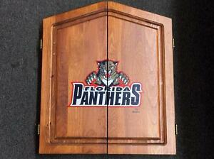 FLORIDA PANTHERS DART BOARD CABINET by ACCUDART made in USA