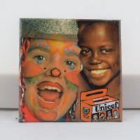 Vintage Halloween Pin - Unicef Canada Donation Pin - Paper Pin
