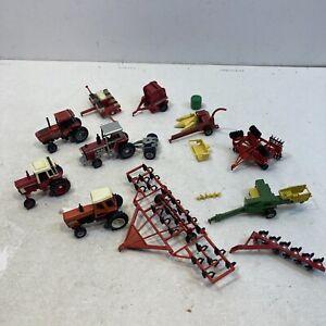 Big Lot Of 1/64 Ertl 7045 More IH 1086 W/ Duels & IH Cultivator