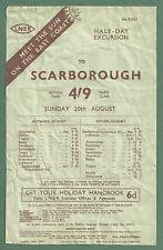 Collectable Railway Handbills LNER