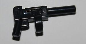 Lego Black Tommy Gun Machine Gun Minifig Weapon Batman NEW