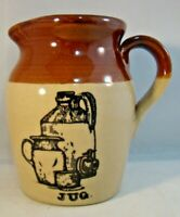 Pearsons Of Chesterfield Stoneware Jug Made In England Pitcher