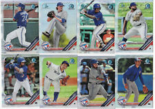 2019 Bowman Draft TORONTO BLUE JAYS You Pick Base Insert Refractor Parallel etc