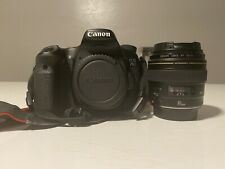 Canon 70d Camera With 85mm F1.8 Lens