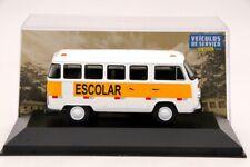 1:43 IXO Volkswagen Kombi T2 Transporte Escolar Diecast Car Models Collection