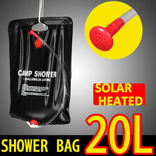 Caribee 20L Camp Solar Shower Portable Outdoor Camping Solar Heated Water Bag