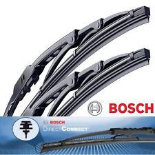 2pc Bosch Direct Connect Wiper Blade Size 22 / 18 Front Left and Right