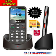 2020 Seniors Mobile Phone Big Button 3G Elder Unlocked SOS Call Easy To Use