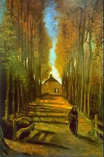Autumn by Vincent Van Gogh Giclee Fine Art Print Reproduction on Canvas