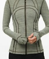 NEW LULULEMON Define Jacket 4 10 Wee Are From Space Sage Dark Olive FREE SHIP