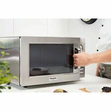 Commercial Microwave 22L Flatbed Freestanding 1000W, Silver, Panasonic NE1027BTQ
