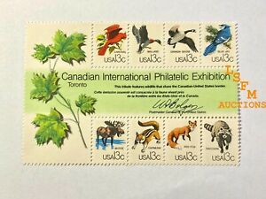 SC No. 1757 - CAPEX Wildlife Souvenir Sheet (1978) - Intact Sheet MNG OG