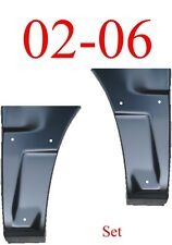 With Cladding Chevy Avalanche 02 06 Dog Leg Set Quarter Panel Repair Patch