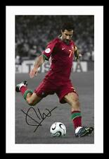 LUIS FIGO - PORTUGAL AUTOGRAPHED SIGNED & FRAMED PP POSTER PHOTO