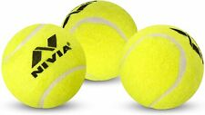 Nivia Heavy Tennis Ball Cricket Ball (Pack of 12) Yellow Free Shipping